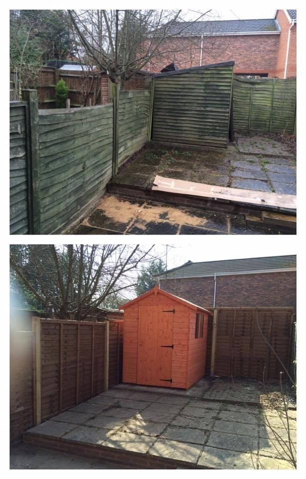 Fence & shed repairs