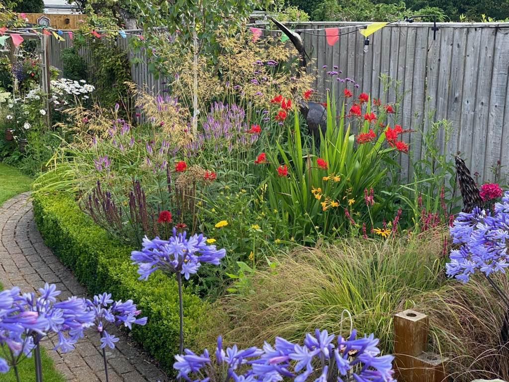 Home Garden Herbaceous Border